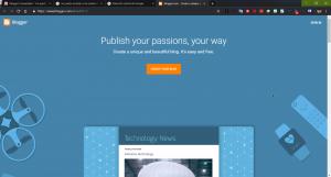Como crear un Blog Gratis con Blogger